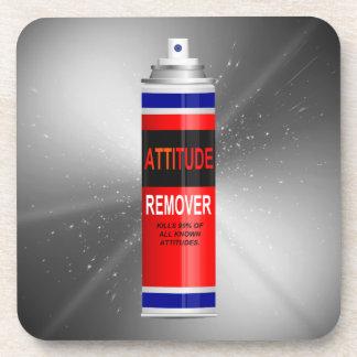 Attitude remover. coaster