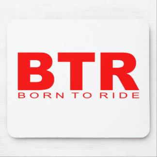 "Attitudes - ""Born To Ride"" Mouse Mat"