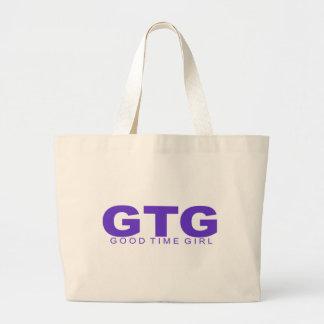 """Attitudes - """"Good Time Girl"""" Canvas Bags"""