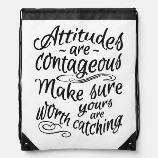 ATTITUDES motivational backpack