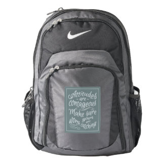 ATTITUDES motivational backpacks