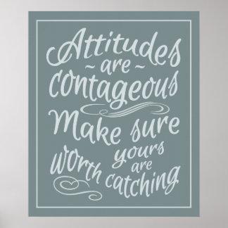 ATTITUDES motivational poster