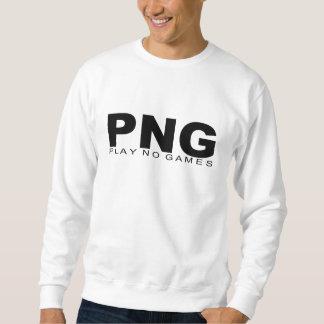 "Attitudes - ""Play No Games"" Pull Over Sweatshirts"