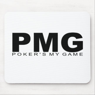 """Attitudes - """"Poker's My Game"""" Mouse Pad"""