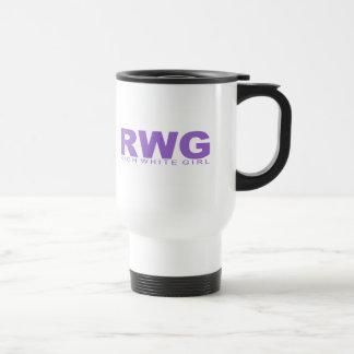 "Attitudes - ""Rich White Girl"" Travel Mug"