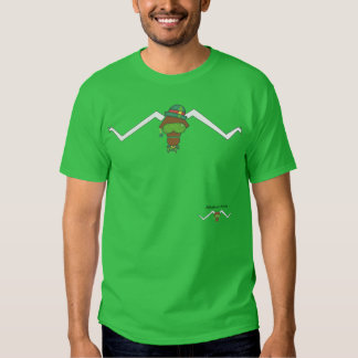 Attitudinous Animals® Lone Star Steer St Patrick's Tshirt