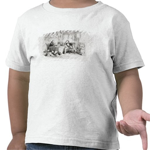 Attorney and Client, fortitude and impatience T-shirt