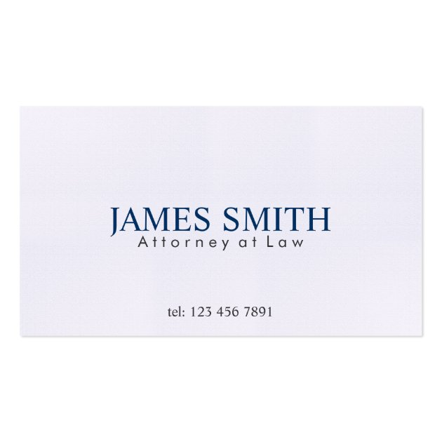 attorney at law business cards