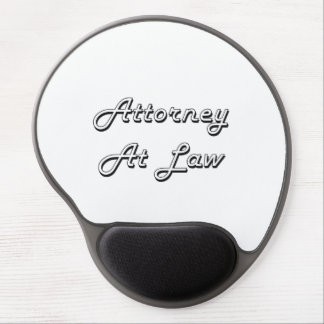 Attorney At Law Classic Job Design Gel Mouse Pad