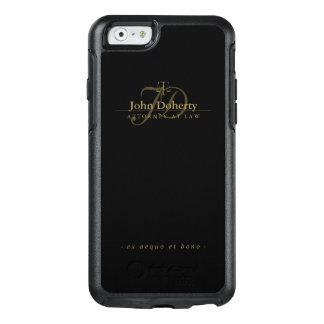 Attorney At Law   Elegant Golden Scales of Justice OtterBox iPhone 6/6s Case