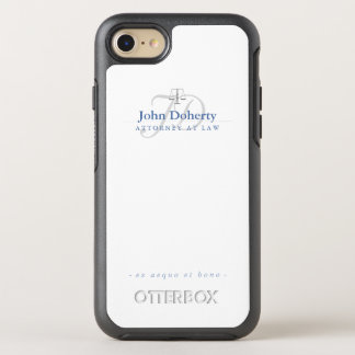 Attorney At Law | Elegant Scales of Justice OtterBox Symmetry iPhone 8/7 Case