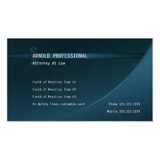Attorney Business Card petrol Lawyer Justice Law