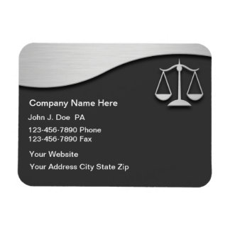 Attorney Business Magnets Flexible Luxury Design