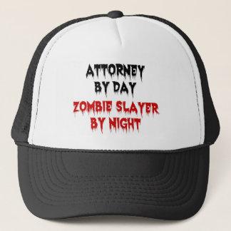 Attorney by Day Zombie Slayer by Night Trucker Hat