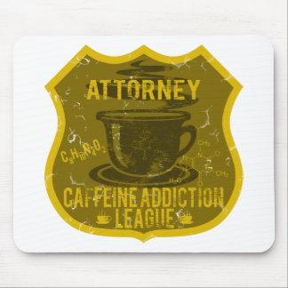 Attorney Caffeine Addiction League Mousepad