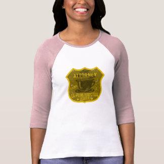 Attorney Caffeine Addiction League T Shirts