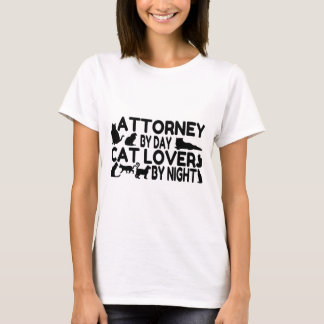 Attorney Cat Lover T-Shirt