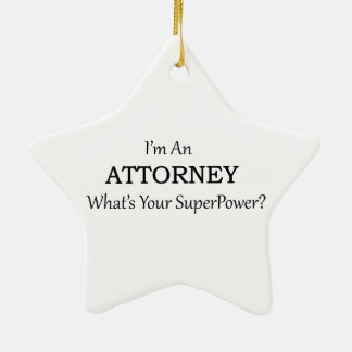 Attorney Christmas Ornament