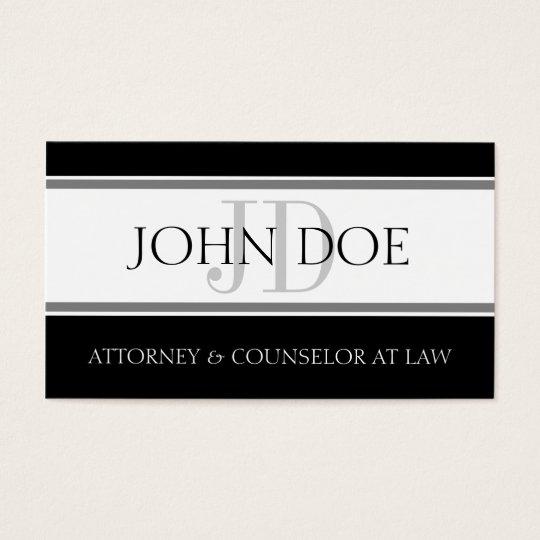Attorney D Stripe W/W