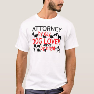 Attorney Dog Lover T-Shirt