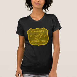 Attorney Drinking League Tee Shirts
