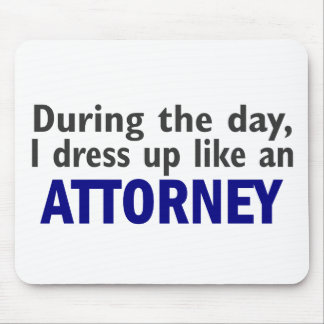 Attorney During The Day Mouse Mat