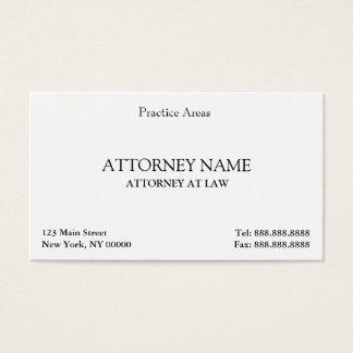 Attorney Elegant Clean