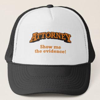 Attorney / Evidence Trucker Hat