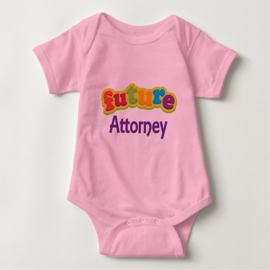 Attorney (Future) For Child Baby Bodysuit