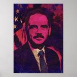 Attorney General Eric Holder Pop Art Poster