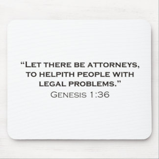 Attorney / Genesis Mousepad