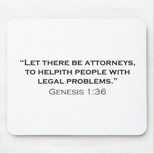 Attorney / Genesis Mousepad