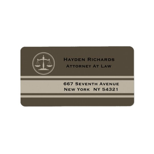 Attorney Justice Scales Lawyer Label