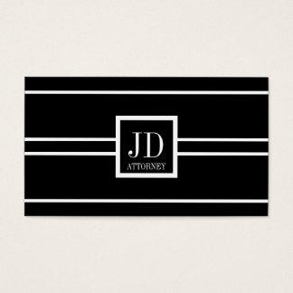Attorney Lawyer Black/White Striped Pendant