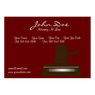 Attorney/Lawyer Business Card
