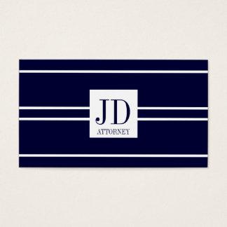 Attorney Lawyer Law Dark Blue White Stripe Pendant