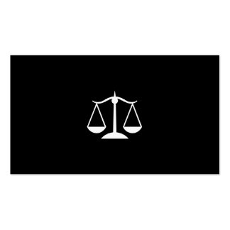 Attorney Lawyer Pack Of Standard Business Cards