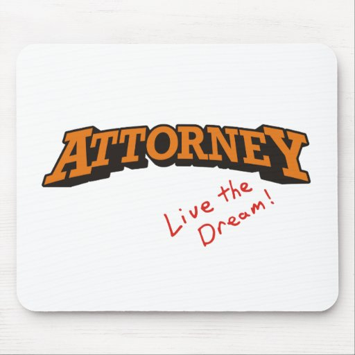 Attorney / Live Mouse Pads