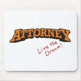 Attorney Live Mouse Pads