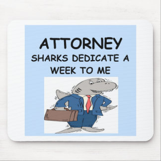 ATTORNEY MOUSE PAD