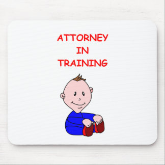 ATTORNEY MOUSE PADS