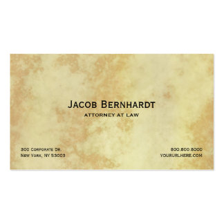 Attorney or Lawyer Legal Business Card Template