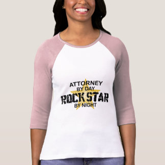 Attorney Rock Star by Night T-Shirt