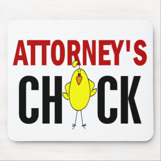 Attorney's Chick Mouse Pad