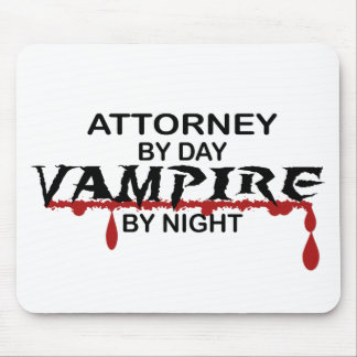 Attorney Vampire by Night Mouse Pad