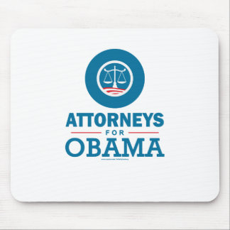 Attorneys for Obama Mouse Pad