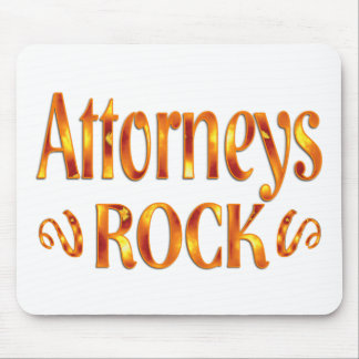 Attorneys Rock Mouse Pad