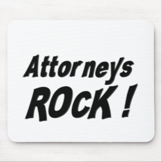 Attorneys Rock! Mousepad
