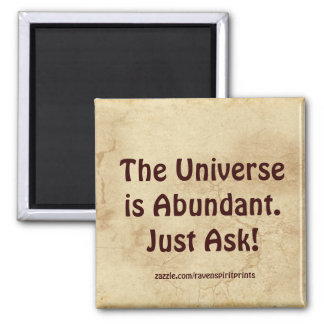 Attract Abundance Success Motivational Magnet