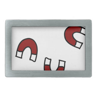 Attracted Rectangular Belt Buckle